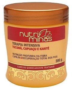 Nutri Minas Hidratação Terapia Intensiva Tucumã 500ml (Embalagem com 3 Unidades)
