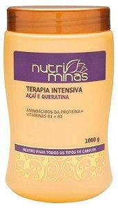 Nutri Minas Terapia intensiva açaí 1000g - Caixa com 3 unidades
