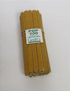 Pacote lixa Pop 100 und 17cm - Caixa com 3 unidades