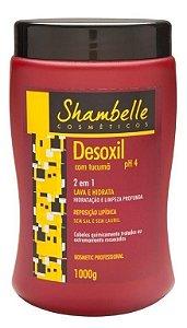 Shambelle Desoxil 2 em 1 Tucumã 1000g - 3 unidades