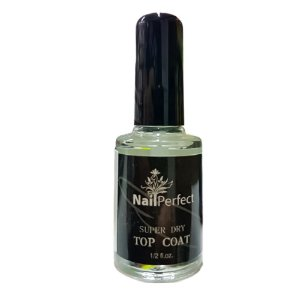 Top Coat Nail Perfect Super Dry 14 ml - 3 Unidades