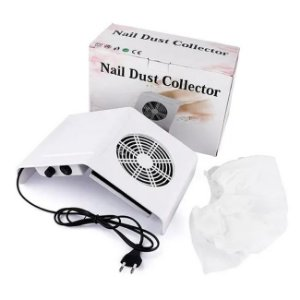 Kit com 3 Coletor De Pó De Unha Nail Dust Collector