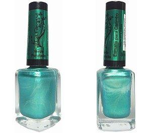 Esmalte LaFemme - Verde Perolado - 9ml - Carimbo - Caixa com 6 unidades