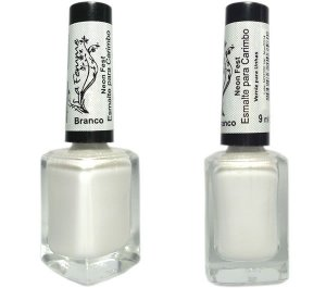 Esmalte LaFemme - Branco - 9ml - Neon Fest - Caixa com 6 unidades