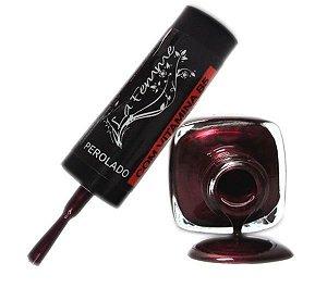 Esmalte LaFemme - Tulipa Vermelha - 9ml - Perolado - Caixa com 6 unidades