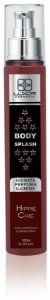 Body Splash 120ml - 3x1 Perfuma - Hidrata - Ilumina - Hippie Chic - Caixa com 6