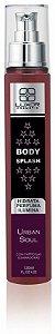 Body Splash 120ml - 3x1 Perfuma - Hidrata - Ilumina - Urban Soul - Caixa com 6