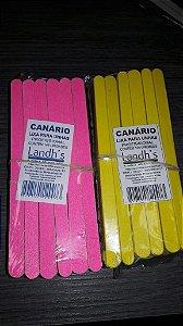 Lixa Canario Grande com 144-Caixa com 3
