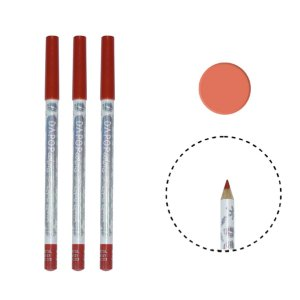 KIT COM 3 LÁPIS LABIAL COLORS - DAPOP