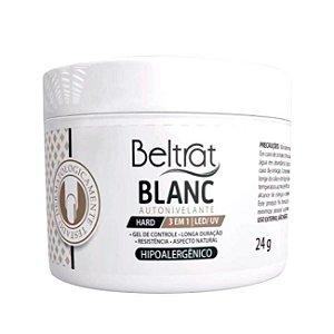 Gel Construtor Autonivelante Blanc HARD Beltrat 24g Manicure Alongamento Unhas - 3 Unidades