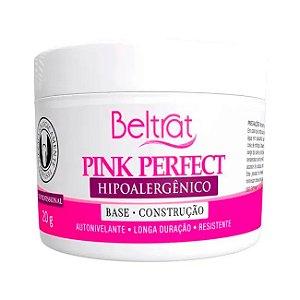 Gel Beltrat Pink Perfect Autonivelante Base Construção 24gr Manicure Alongamento Unhas - 3 Unidades