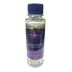 Multi Clean Piú Bella Higienizador Brocas Alicates 120ml - 3 Unidades