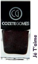 Esmalte Cozete Gomes jé Taime (cx com 6 unidades)