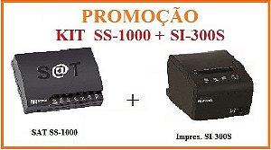 SAT FISCAL SS-1000 + Impressora de Cupom SI-300S [KIT] - SWEDA [PROMOÇÃO] ** REVENDA AUTORIZADA **