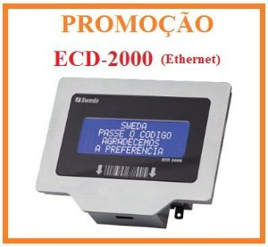 Terminal Verificador de Preços ECD2000LCD - SWEDA [PROMOÇÃO] ** REVENDA AUTORIZADA **