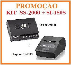 SAT FISCAL SS-2000E + Impressora de Cupom SI-150S [KIT] - SWEDA [PROMOÇÃO] ** REVENDA AUTORIZADA **
