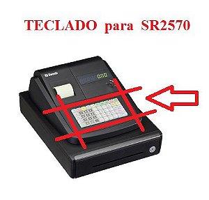 Teclado para Caixa Registradora SR2570 - SWEDA  ** REVENDA AUTORIZADA **