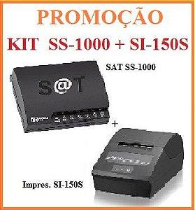 SAT FISCAL SS-1000 + Impressora de Cupom SI-150S [KIT] - SWEDA [PROMOÇÃO] ** REVENDA AUTORIZADA **