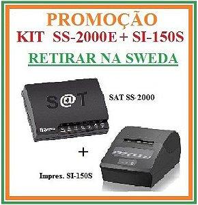 SAT FISCAL SS-2000E + Impressora de Cupom SI-150S [KIT] - SWEDA [PROMOÇÃO] {RETIRAR NA FABRICA} ## REVENDA AUTORIZADA ##