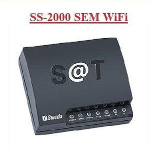 SAT Fiscal - SS-2000E (ETHERNET-SEM WiFi) - SWEDA ## REVENDA AUTORIZADA ##