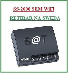 SAT Fiscal - SS-2000E (ETHERNET-SEM WiFi) - SWEDA {RETIRAR NA FABRICA} ## REVENDA AUTORIZADA ##