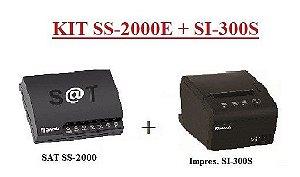 SAT FISCAL SS-2000E + Impressora de Cupom SI-300S [KIT] - SWEDA ## REVENDA AUTORIZADA ##