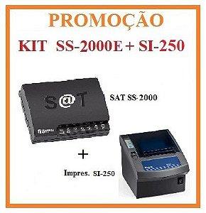 SAT FISCAL SS-2000E + Impressora de Cupom SI-250 [KIT] - SWEDA [PROMOÇÃO] ## REVENDA AUTORIZADA ##