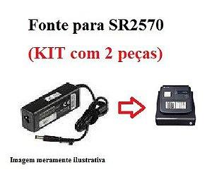 FONTE SR-2570 VER.2 - 7,5V 2A5 - KIT (2x) - SWEDA *** REVENDA AUTORIZADA ***