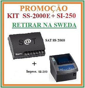 SAT FISCAL SS-2000E + Impressora de Cupom SI-250 [KIT] - SWEDA [PROMOÇÃO] {RETIRAR NA FABRICA} ## REVENDA AUTORIZADA ##