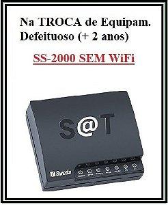 SAT Fiscal - SS-2000E (ETHERNET-SEM WiFi) - SWEDA [TROCA DE EQUIP. DEFEIT.] ## REVENDA AUTORIZADA ##