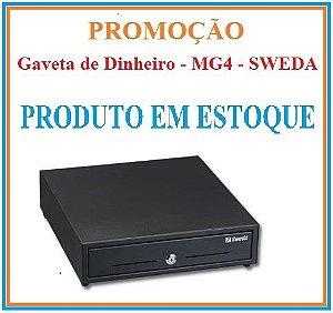 Gaveta MG4 COM CHAVE - SWEDA [PROMOÇÃO] {EM ESTOQUE} *** REVENDA AUTORIZADA ***