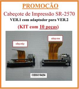 Cabeçote SR-2570 VER.1 (+ adaptador p/ VER.2) [KIT com 10 peças] - SWEDA [PROMOÇÃO] *** REVENDA AUTORIZADA ***