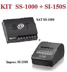 SAT FISCAL SS-1000 + Impressora de Cupom SI-150S [KIT] {PROMOÇÃO} - SWEDA *** REVENDA AUTORIZADA ***