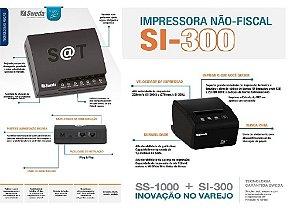 SAT FISCAL SS-1000 + Impressora de Cupom SI-300S [KIT] - SWEDA ** REVENDA AUTORIZADA **