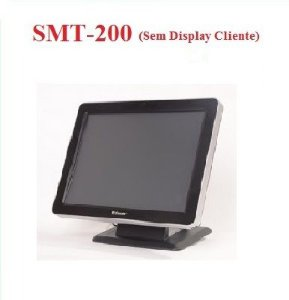 "Monitor Touch 15"" SMT-200 SEM Display Cliente - SWEDA [US$] ## REVENDA AUTORIZADA ##"
