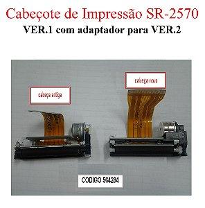 Cabeçote SR-2570 VER.1 (+ adaptador p/ VER.2) - SWEDA *** REVENDA AUTORIZADA ***