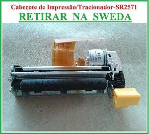 Cabeçote de Impressão Térmica para Caixa Registradora SR-2571 - SWEDA {RETIRAR NA FABRICA} ## REVENDA AUTORIZADA ##