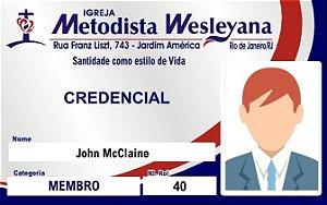 CARTÃO DE MEMBRO WESLEYANA