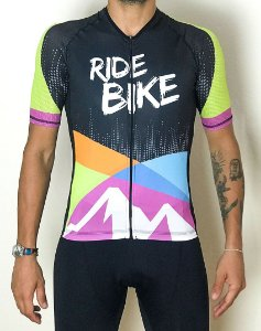 Camisa Revista Ride Bike Colorida