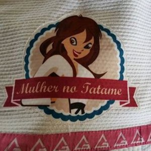 Patch Mulher no Tatame