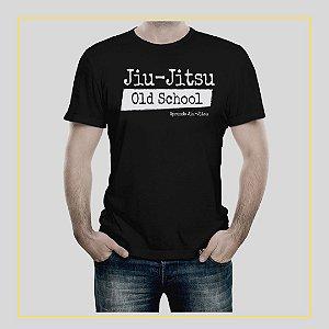 Camiseta Jiu-Jitsu Mínimo de Força Máximo em Eficiência
