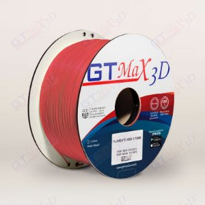 Filamento ABS Premium MG94 1.75mm GTMax3D - Vermelho