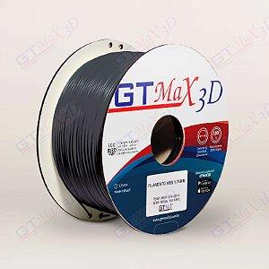 Filamento ABS Premium MG94 1.75mm GTMax3D - Preto