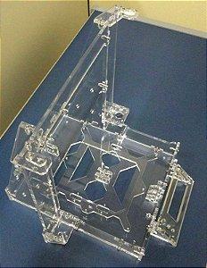 Estrutura (frame) Imp.3D Prusa i3 Graber ACRÍLICO
