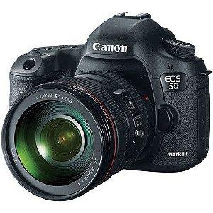 Câmera Canon EOS 5D Mark III Kit Lente Canon EF 24-105mm f/4L USM