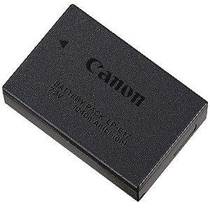 Bateria recarregável Canon LP-E17 para câmeras Canon EOS Rebel T6i / EOS Rebel T6s / EOS Rebel T7i