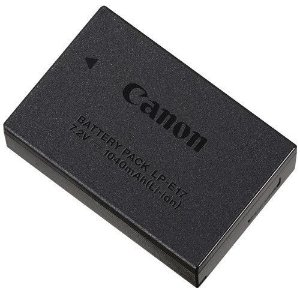 Bateria Canon LP-E17 para câmeras EOS Rebel T6i / EOS Rebel T7i / EOS RP Mirrorless
