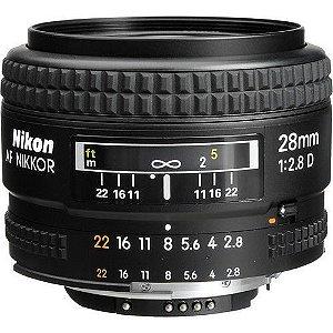Lente Nikon AF Nikkor 28mm f/2.8D
