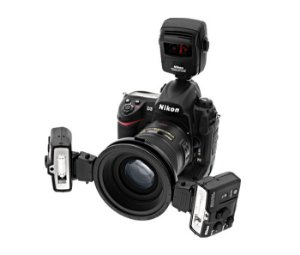 Sistema de Flash Speedlight de close-up sem fio Nikon R1C1 iluminação para close-up