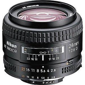 Lente Nikon AF Nikkor 24mm f/2.8D